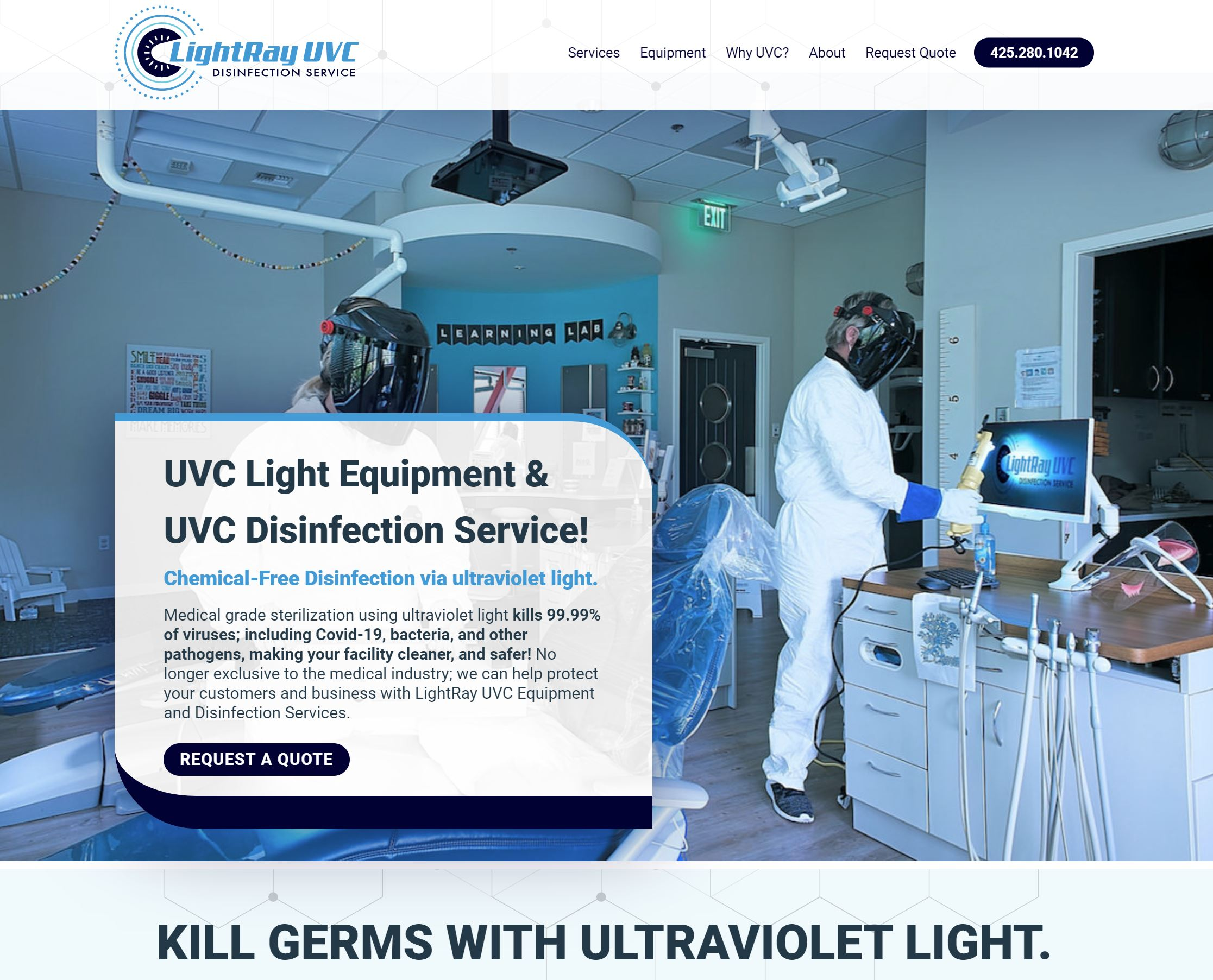 LightRay UVC New Website