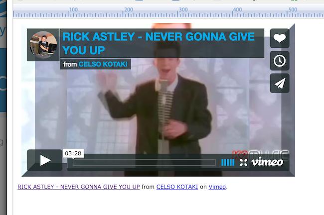 video Page Screenshot