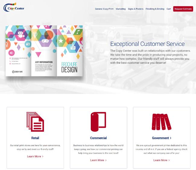 The Copy Center San Antonio New Website