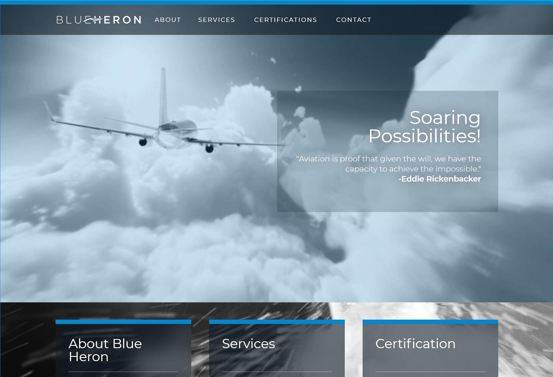 Blue Heron Screenshot