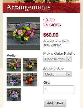 Woodinville Florist Mobile Thumbnail 2
