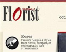 Woodinville Florist Website Thumbnail
