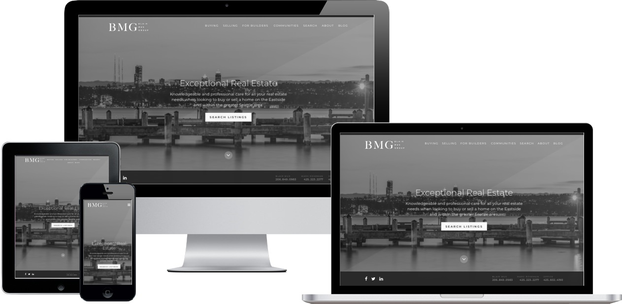 Blair Mus Group Website Design by Efinitytech Seattle