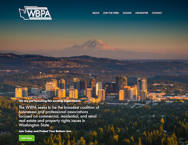 Washington Property Rights Website Design by Efinitytech Seattle