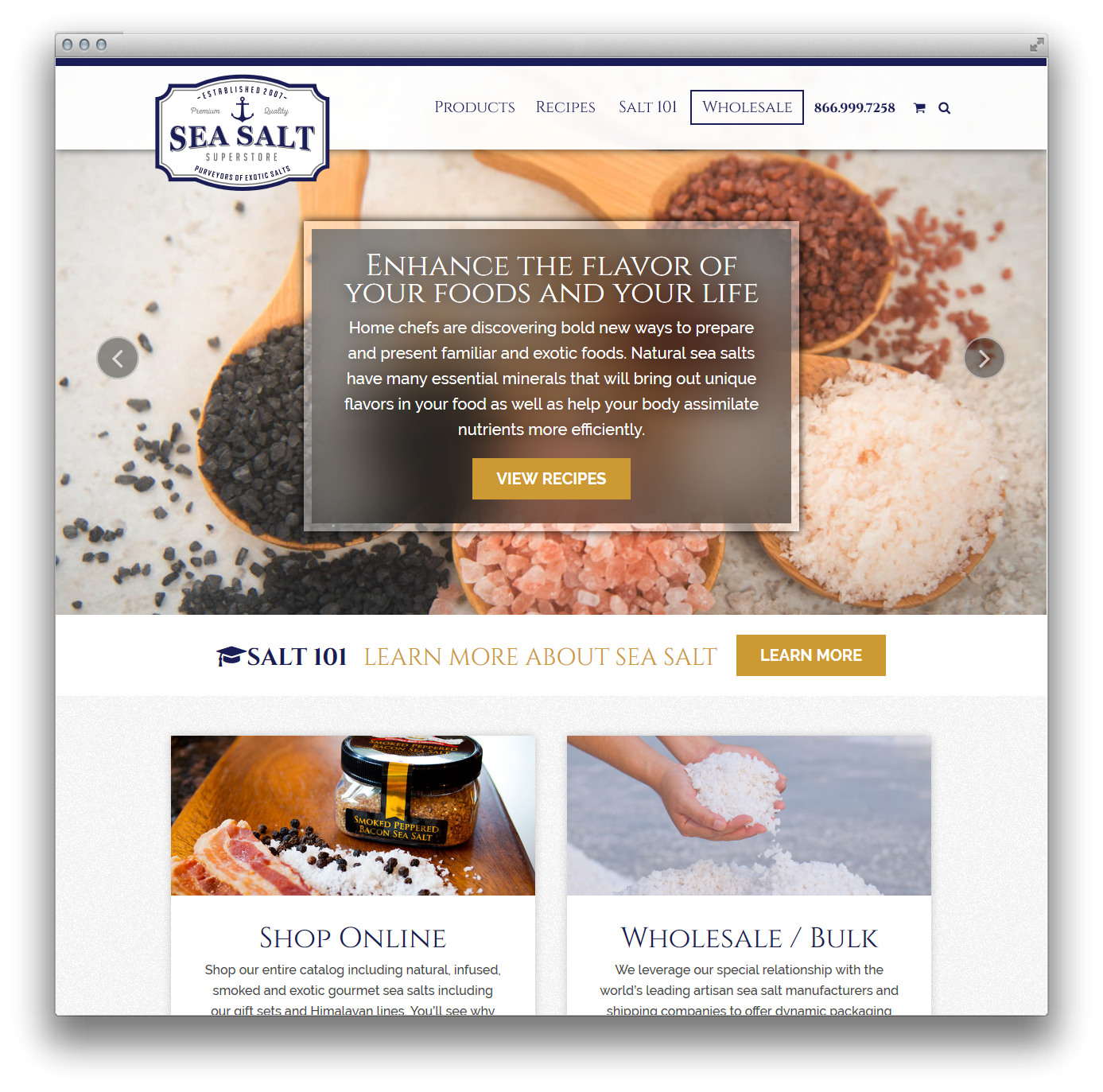 Corstone LLC Website Design