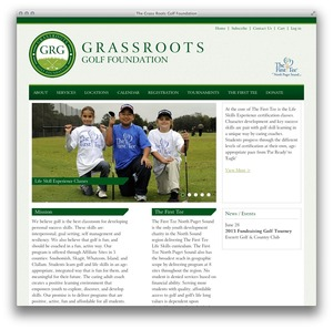 Grass Roots Jr Golf Website Thumbnail