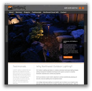 NW Outdoor Lighting Website Thumbnail