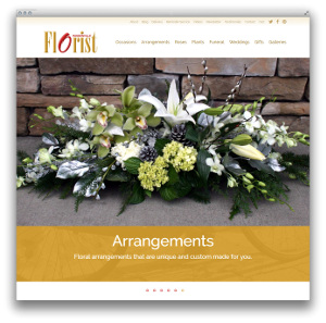 Woodinville Florist Website Thumbnail