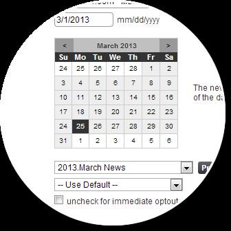 Schedule Edit
