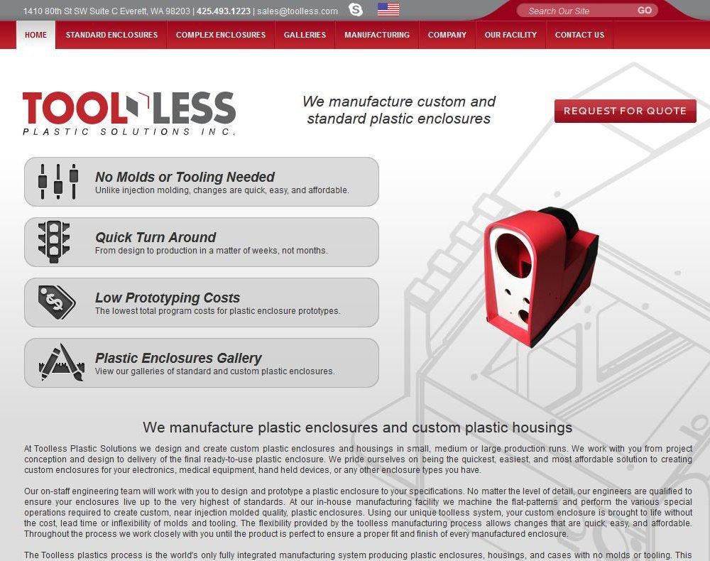Toolless Website