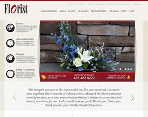 Woodinville Florist Website